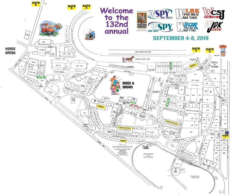 Fair Details/Schedule - Sandwich Fair